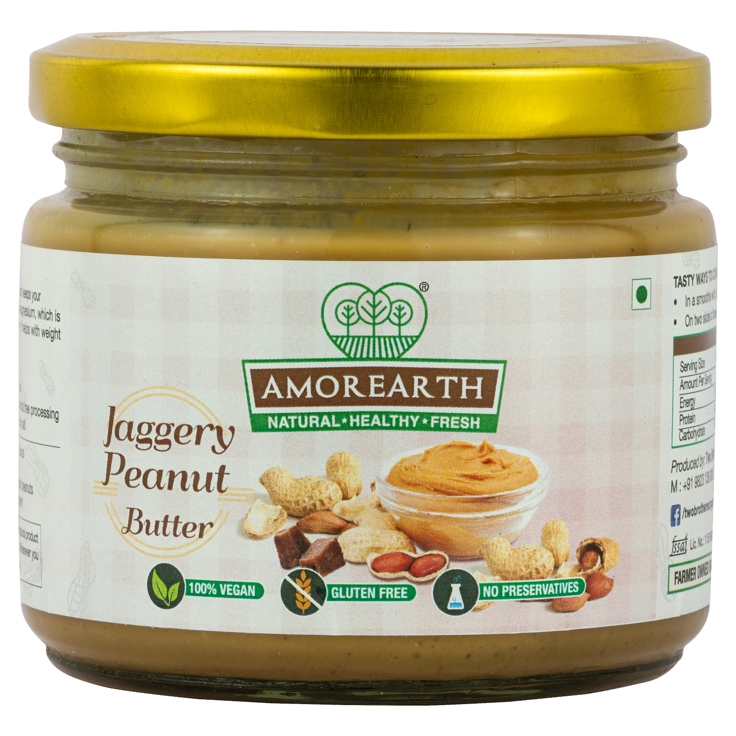 is fresh ground peanut butter good for you
