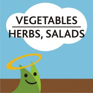 Vegetables, Salads and Herbs